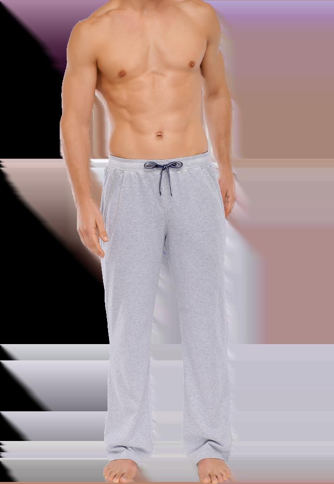 Серые домашние мужские брюки из хлопка SCHIESSER 146866шис Серый ... 1a20d07e009