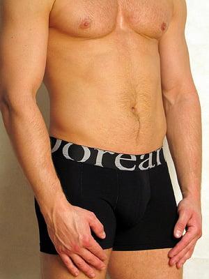 Мужские трусы боксеры черные с модной резинкой Doreanse For Everyday 1777c01
