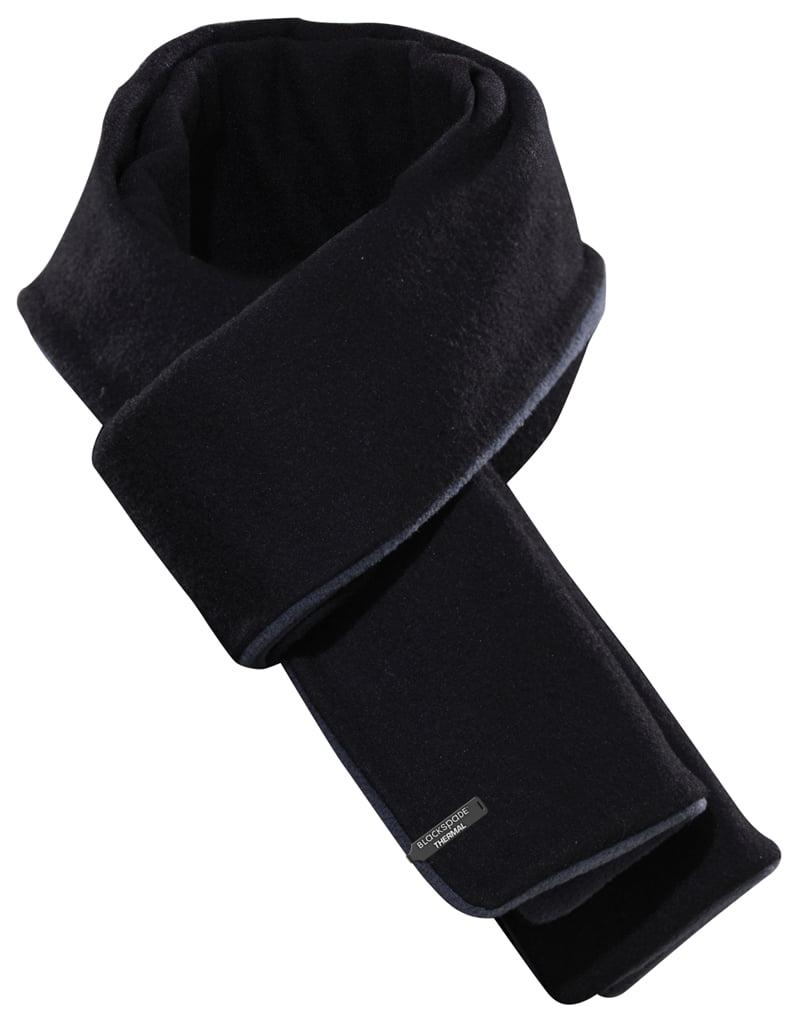 Теплый и удобный шарф черного цвета unisex BlackSpade Thermo b9982 черный