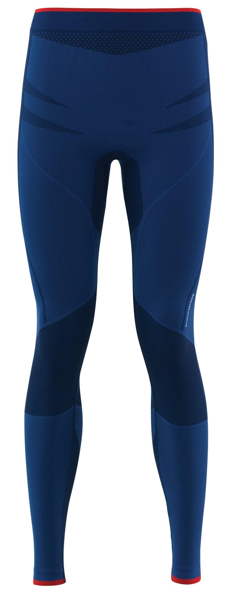 Эластичные термолегинсы PRO unisex синего цвета II степень защиты BlackSpade Thermo b9572 синий