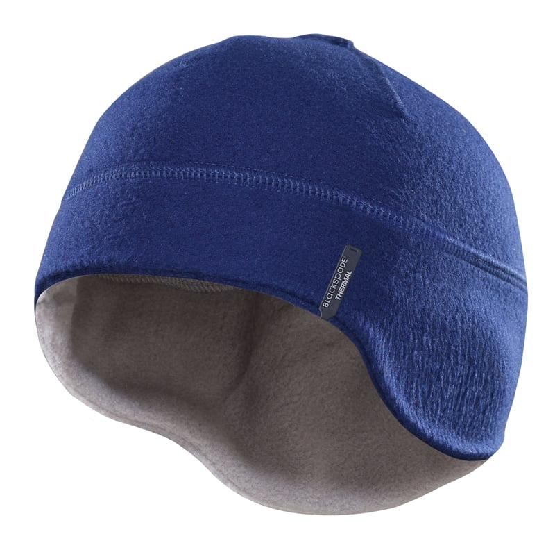 Теплая термошапка синего цвета unisex II степень термозащиты BlackSpade Thermo b9980 синий