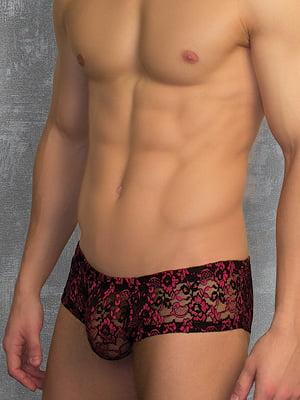 Мужские прозрачные трусы хипсы черные Doreanse Sexy 1585c01