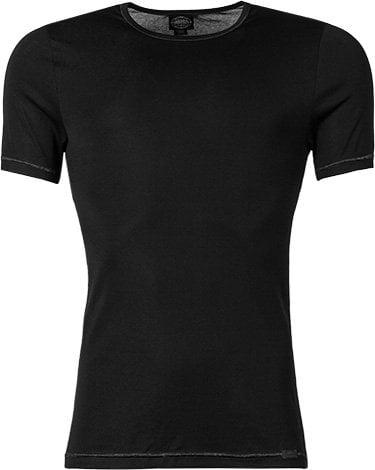 Модная мужская футболка из хлопка черного цвета JOCKEY Футболка/ 24001812 Premium Cotton Stretch (муж.) Черный