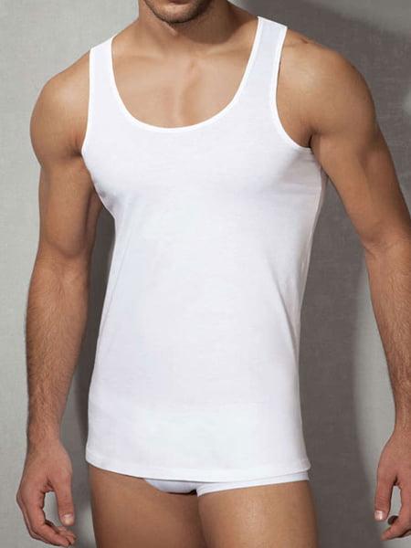 Классическая мужская майка белого цвета Doreanse Cotton Collection 2025c02