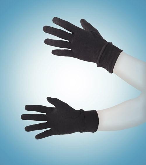 Теплые термоперчатки черного цвета II степень защиты BlackSpade Thermo b9275 черный