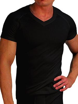 Теплая мужская футболка «Doreanse Thermo Comfort» 2880-01 черная
