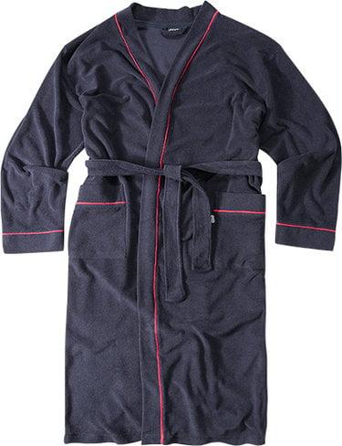 Удобный мужской халат темно-серого цвета Jockey 50013 Nos