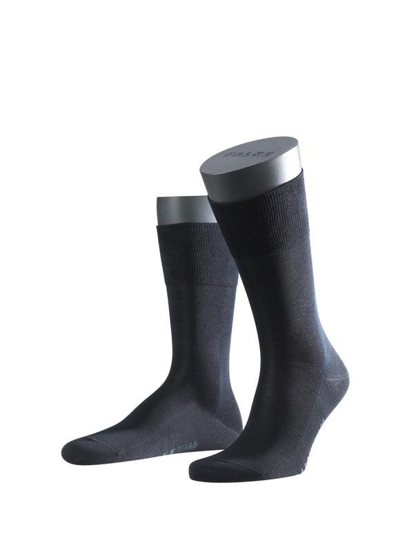 Носки из шотландской нити с хлопчатобумажной стелькой с элементами ручной работы темно-синего цвета Falke 14662 Tiago (муж.) Темный-синий
