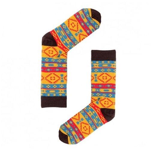 """Веселые разноцветные носки унисекс """"Butynar"""" Sammy Icon"""
