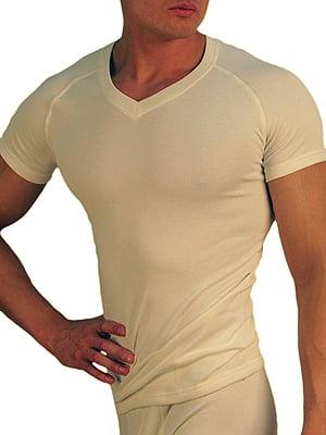 Теплая мужская футболка «Doreanse Thermo Comfort» 2880-02 белая