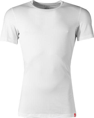 Эластичная мужская футболка белого цвета JOCKEY Футболка/ 22151812 (муж.) Белый