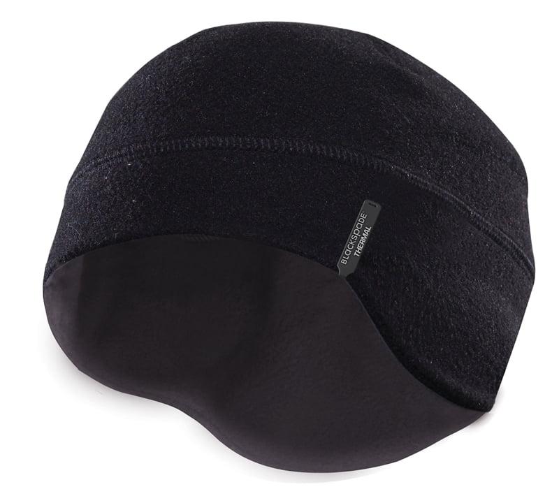 Теплая термошапка черного цвета unisex II степень термозащиты BlackSpade Thermo b9980 черный