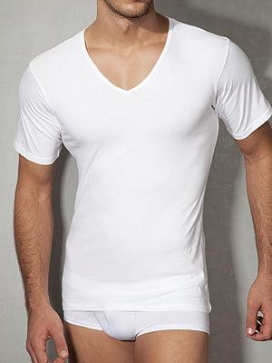 Мужская белая хлопковая футболка Doreanse Cotton Collection 2810c02