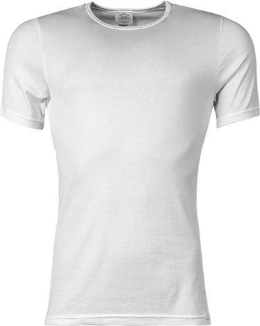 Стильная удобная мужская футболка белого цвета  JOCKEY 24001812 Premium Cotton Stretch