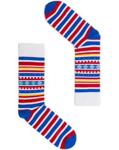 """Веселые разноцветные носки унисекс """"Aztec Creek"""" Sammy Icon"""