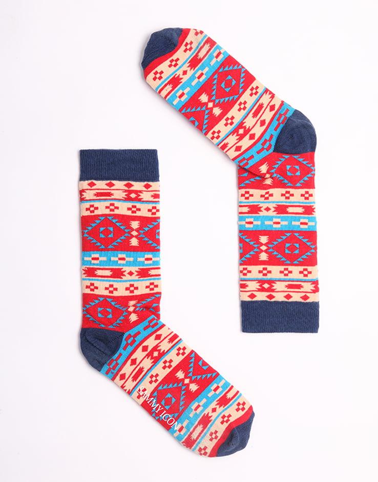 """Веселые разноцветные носки унисекс """"Batiar"""" Sammy Icon"""