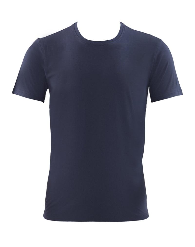 Приталенная мужская футболка серого цвета BlackSpade AURA b9506 серый
