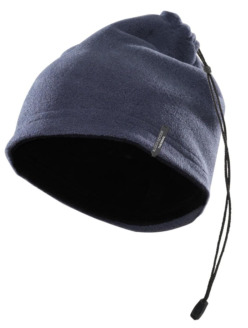 Мягкая термошапка черного цвета unisex II степень термозащиты BlackSpade Thermo b9983 черный
