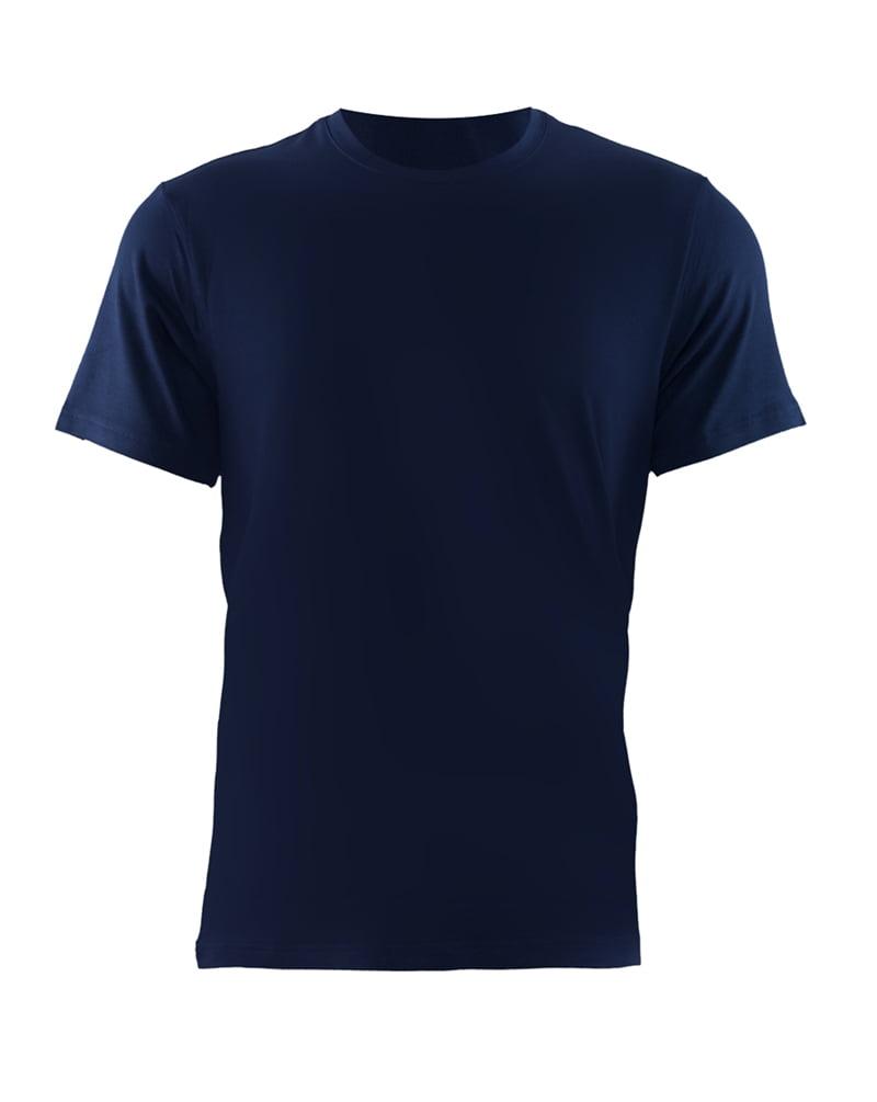 Приталенная мужская футболка синего цвета BlackSpade AURA b9506 синий