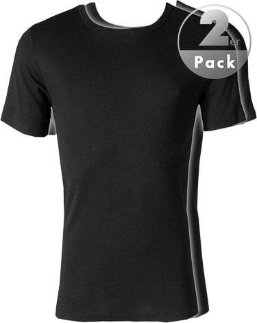 Стильная удобная мужская футболка черного цвета 2шт JOCKEY 18501822