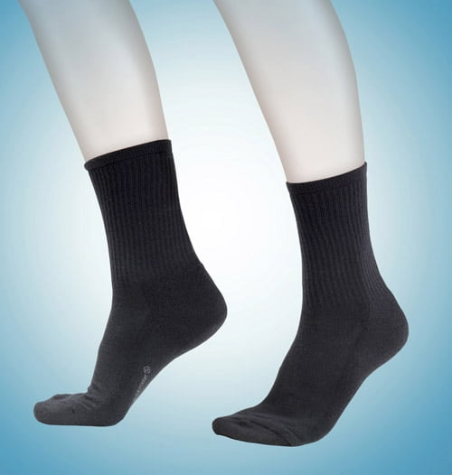 Спортивные термоноски черного цвета unisex BlackSpade Thermo b9273 черный