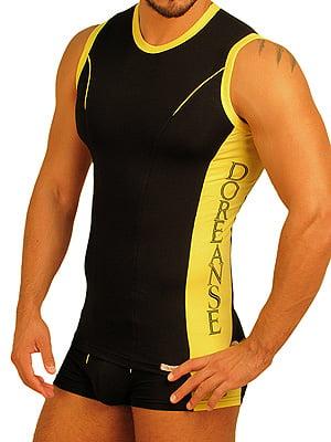 Мужская черная спортивная безрукавка Doreanse Sport Collection 2099c01