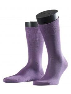 Носки из шотландской нити с хлопчатобумажной стелькой с элементами ручной работы фиолетового цвета Falke 14662 Tiago (муж.) Фиолетовый