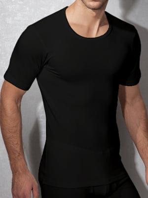 Теплая мужская футболка «Doreanse 2870-01 Thermo Viloft» черная