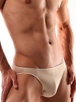 Эластичные мужские трусы телесного цвета HOM Plumes 34c4756-00DT