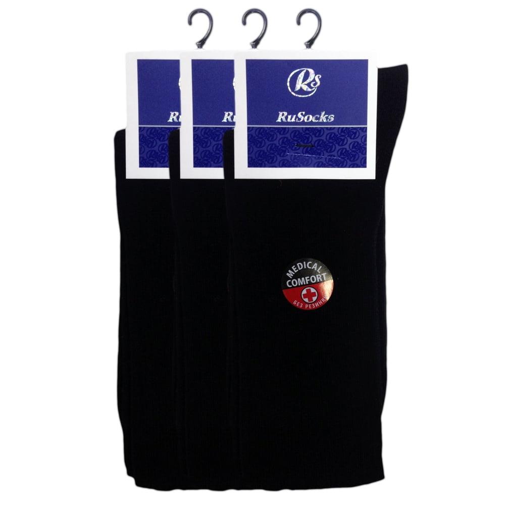 """Комплект из 5 серых\черных удобных мужских носков из хлопка премиум класса """"RusSocks"""" М-430"""
