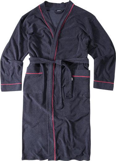 Хлопковый мужской халат синего цвета Jockey Халат/ 50013 Nos (муж.) Синий