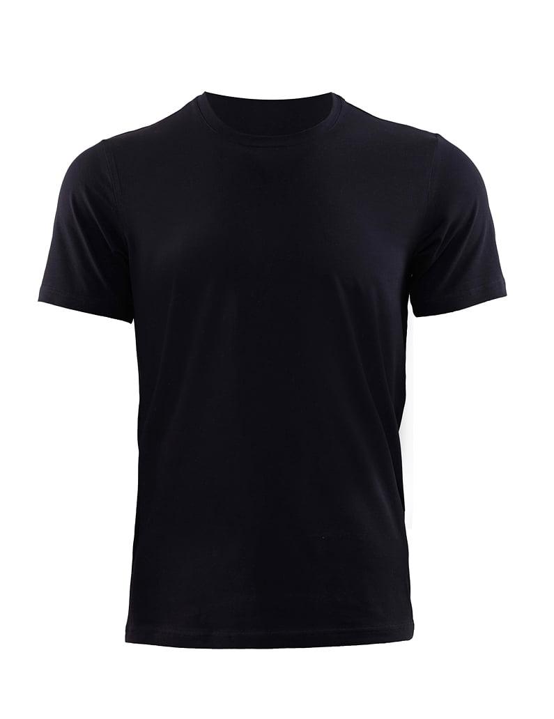 Приталенная мужская футболка черного цвета BlackSpade AURA b9506 черный