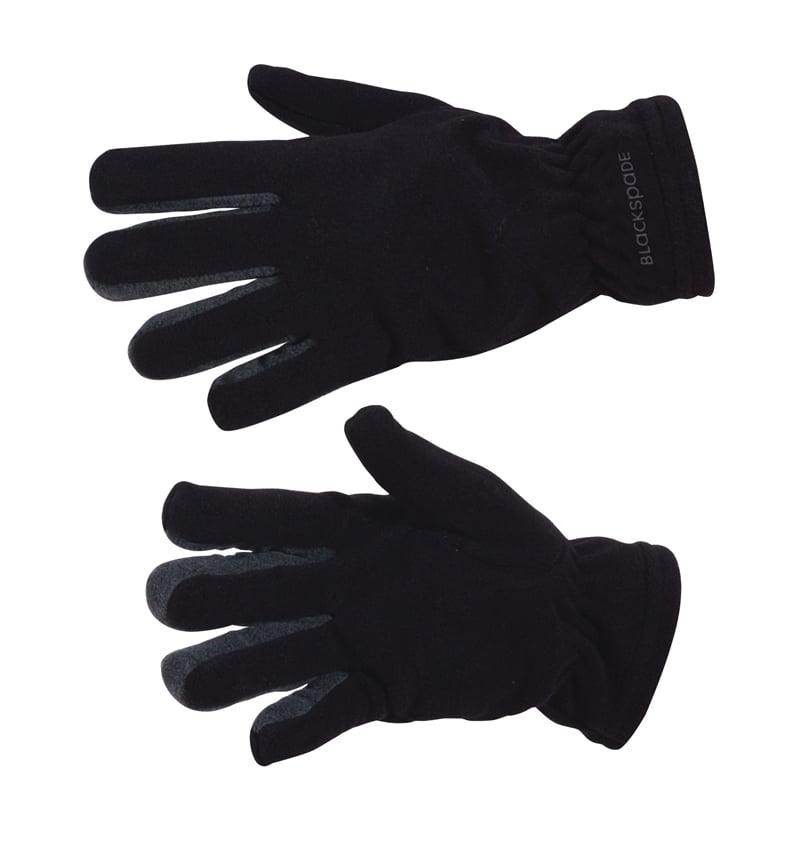 Мягкие термоперчатки черного цвета unisex II степень термозащиты BlackSpade Thermo b9984 черный
