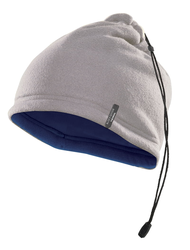 Мягкая термошапка серого цвета unisex II степень термозащиты BlackSpade Thermo b9983 серый