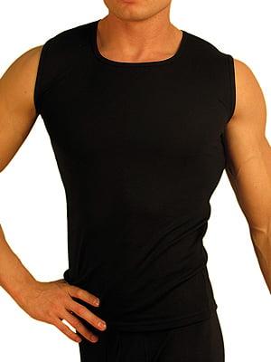 Теплая мужская безрукавка «Doreanse Thermo» 2460-01 черная